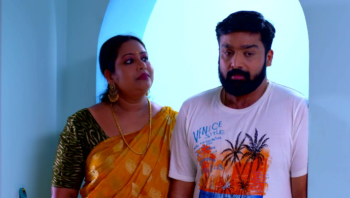 Saudamini and Harshan from Pookalam Varavayi