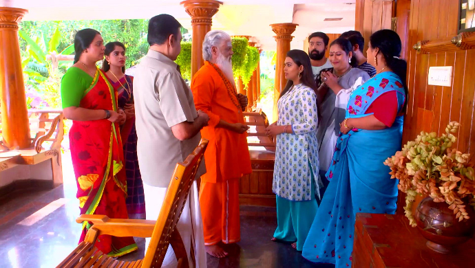 Swamiji visits Kalapurackal