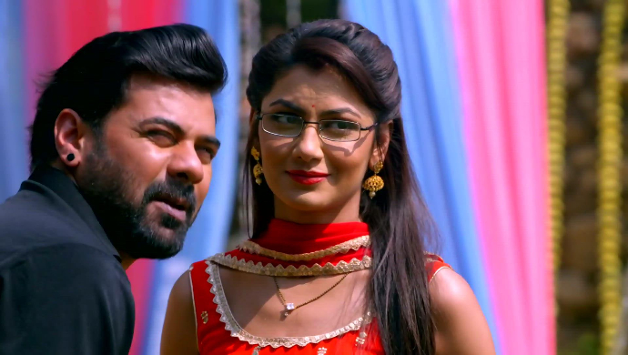 Pragya and Abhi in Kumkum Bhagya
