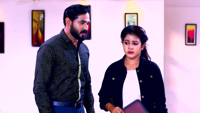 Abhjit and Divya from Sathya Enna Penkutty