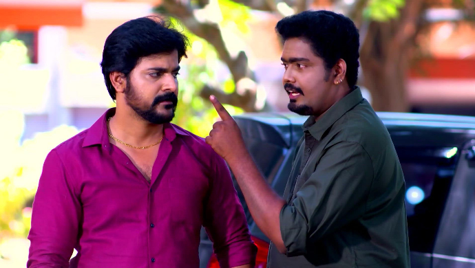 Cleetus and Sudhi in Sathya Enna Penkutty