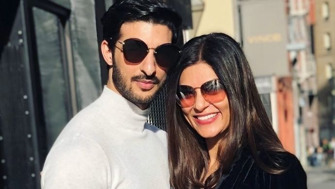 Watch: Sushmita Sen's Boyfriend Rohman Shawl Tries To Cover His Face As The Actress Reveals Something About Her!