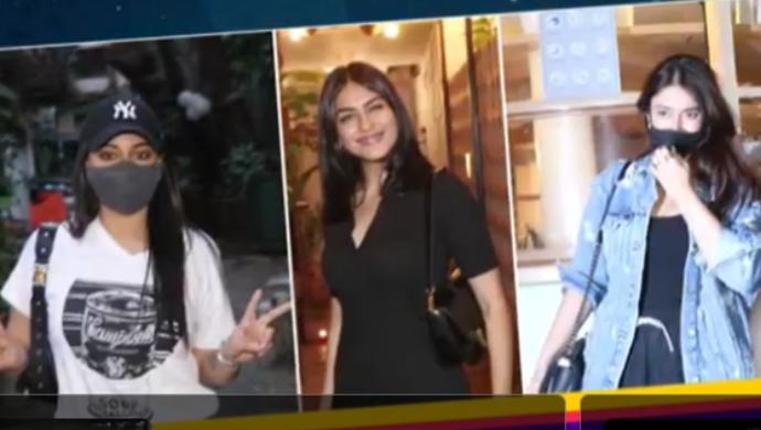 Celebrity Spotting: Sonakshi Sinha, Mrunal Thakur, Ileana D'cruz Spotted In Mumbai