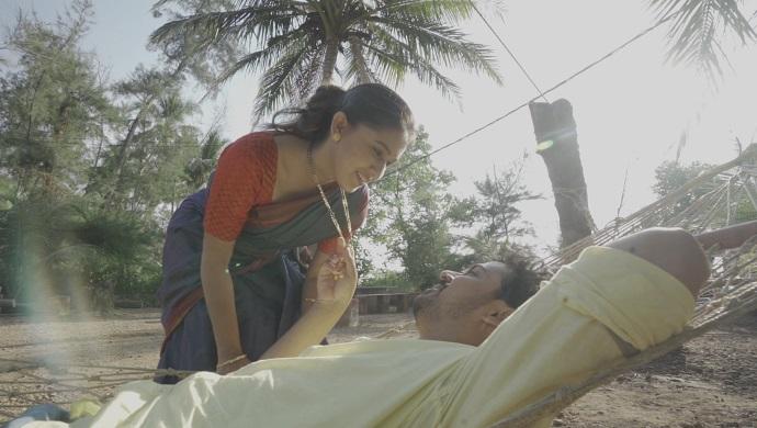A still from Majha Hoshil Na