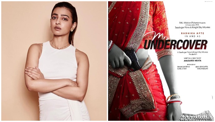 Radhika Apte Announces Her New Film Mrs Undercover, A Spy Entertainer