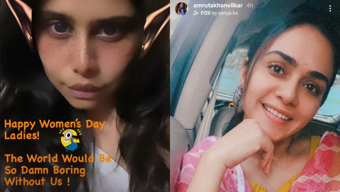 Instagrammed By Sai Tamhankar and Amruta Khanvilkar