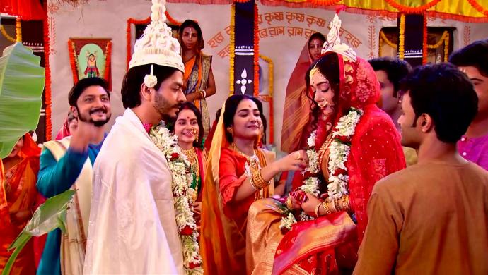 Ganesh and Annada in Karunamoyee Rani Rashmoni