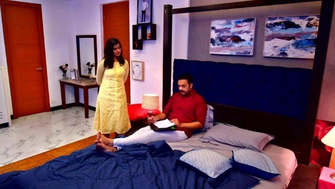 AJ and Hasini in Thirumathi Hilter