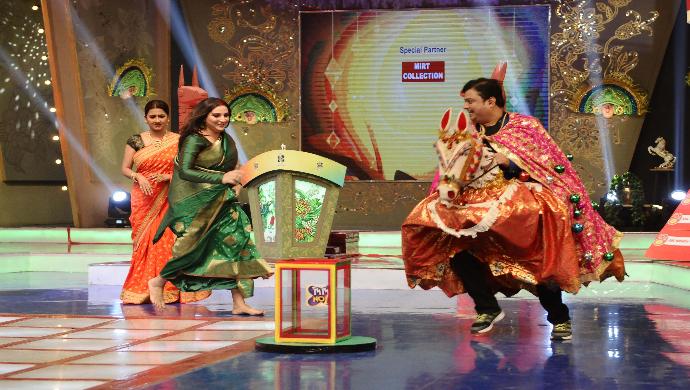 Biswanath, Subhashree and Rachana in Didi No 1