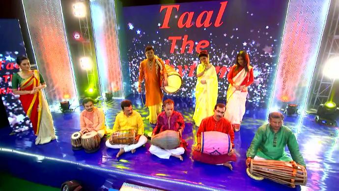 Jamuna and Participants in Jamuna Dhaki