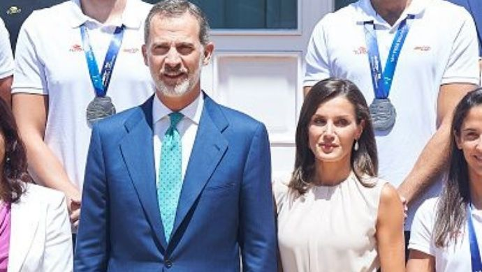 Letizia Ortiz and King Felipe VI