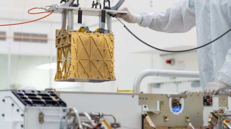 NASA's Perseverance Mars Rover extracts first oxygen from the red planet