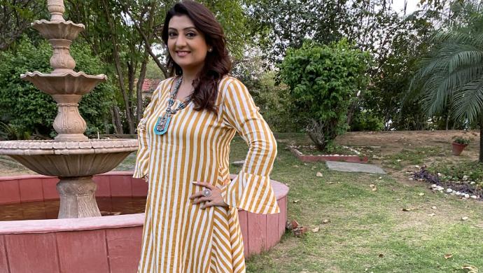 Meera in Hamariwali Good news