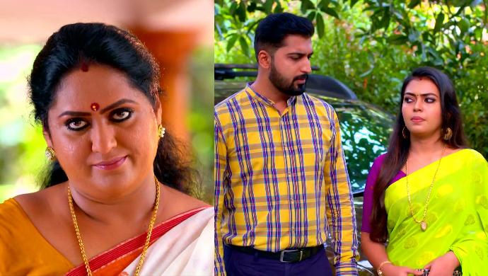 Pookalam Varavayi: What might be Sharmila's secret motive behind agreeing to Samyuktha and Abhimanyu's remarriage?