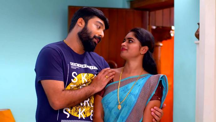 Harshan and Saptathi (Pookalam Varavayi)
