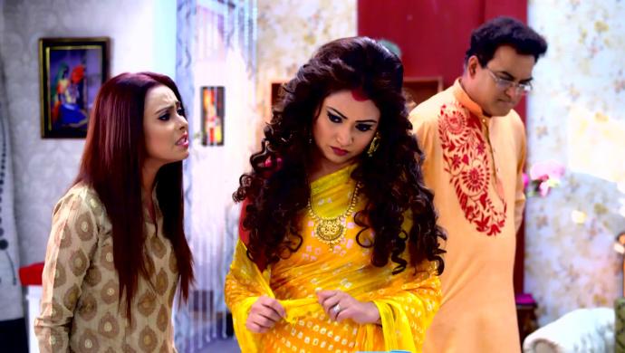 Rik and Koushani in Jibon Saathi