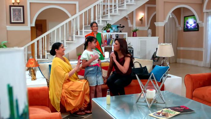 Roli,Samaira and Chandrani