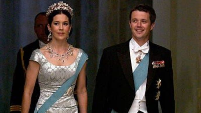 Mary Elizabeth Donaldson and Crown Prince Frederik