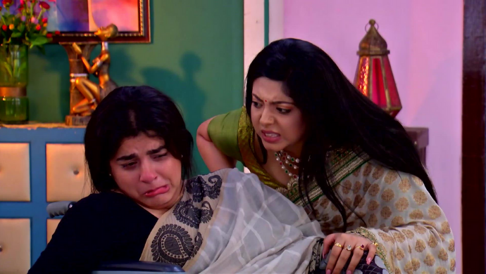 Konika and Radharani in Krishnakoli