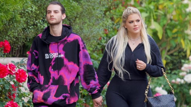 Cole & Kelsea Moscatel Spotted in Brentwood After Filming for Season 2 of Their Reality Show, THE MOSCATELS