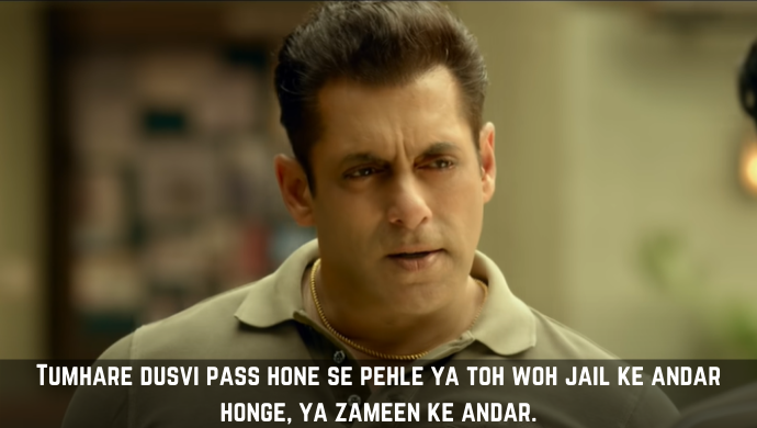 Radhe: 5 Seeti Maar Dialogues Of Salman Khan From The Film That Deserve All The Cheer