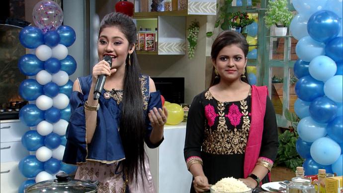 Anushka Patra and Niharika Nath in Rannaghar