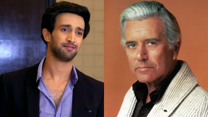 Ritwik from Hamariwali Good News and John Forsythe as Charlie