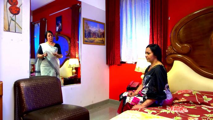 Akhila and her alter ego