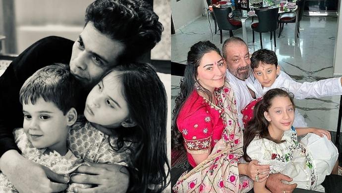 Karan Johar To Sanjay Dutt; Bollywood Stars Who Are Proud Parents To Twins
