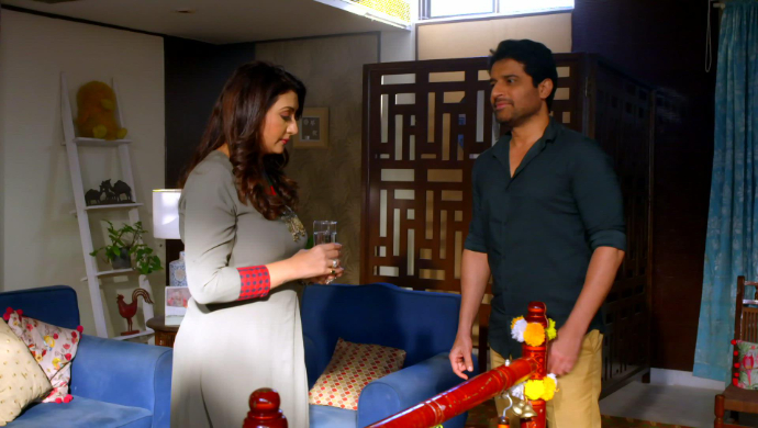 Meera and Mukund in Hamariwali Good News