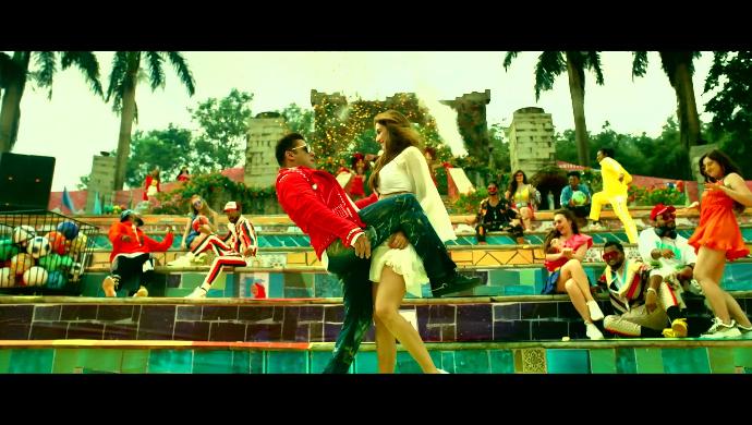 Salman Khan and Disha Patani in Radhe