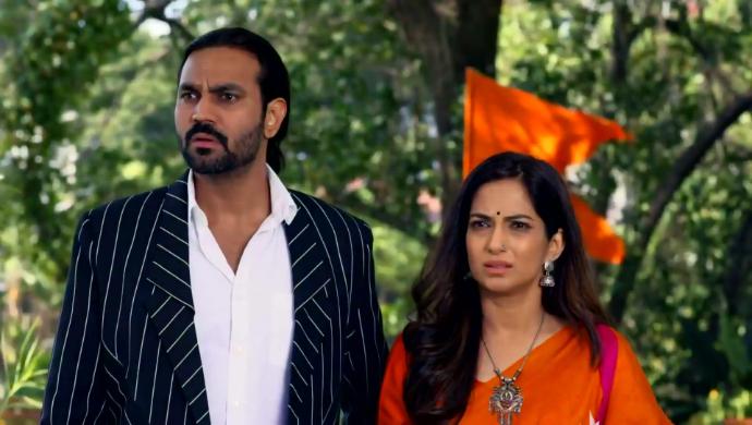 Sarthak and Anupriya in Tujhse Hai Raabta