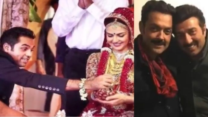 Did You Know Sunny And Bobby Deol Were Not Present At Their Step Sisters' Weddings?