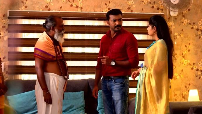 Vinod and Jenny in Sathya