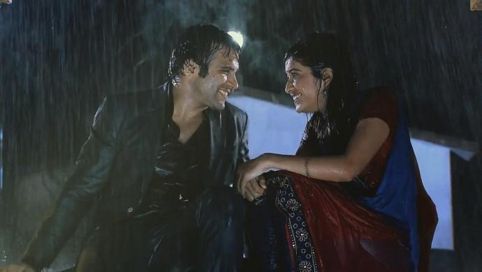 Arjun Purvi rain romance
