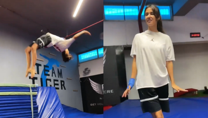 Disha Patani Posts New Stunt Video, Tiger Shroff Compliments Her Clean Moves