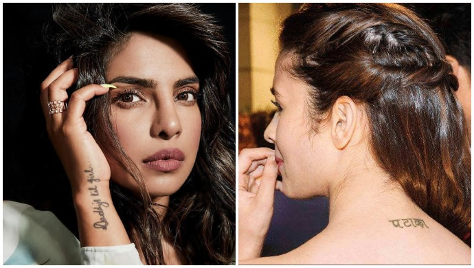 Priyanka Chopra, Alia Bhatt, and Other Bollywood Actresses Who Have Flaunted Their Tattoos