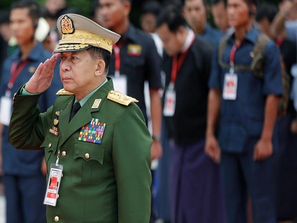 Myanmar's military leader leaves for Russia to take part in international conference