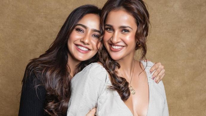 Satyameva Jayate Actress Aisha Sharma And Sister Neha Sharma Get Snapped Around The City
