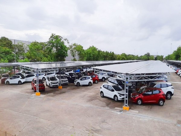 Tata Motors, Tata Power inaugurate India's largest solar carport in Pune