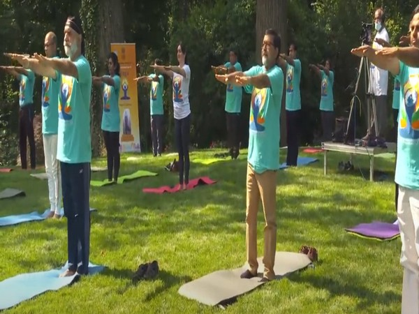 Indian Embassy in US celebrates International Yoga Day 2021
