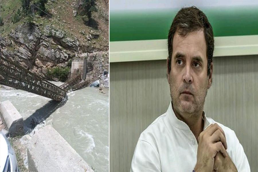 किन्नौर में हुए भूस्खलन पर Rahul Gandhi ने जताया शोक, पार्टी कार्यकर्ताओं को राहत कार्य में मदद को कहा