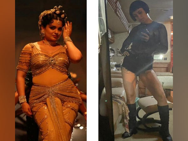 Kangana Ranaut gives glimpse of her different looks from 'Thalaivi', 'Dhaakad'