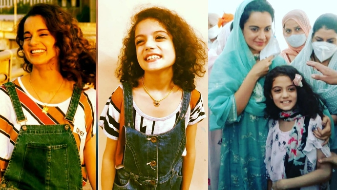 Kangana Ranaut's 9-Year-Old Lookalike Is Taking The Internet By Storm