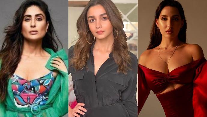 Celeb Spotting: The Gorgeous Divas Of Bollywood, Kareena Kapoor Khan, Alia Bhatt, And Nora Fatehi Snapped Around Town