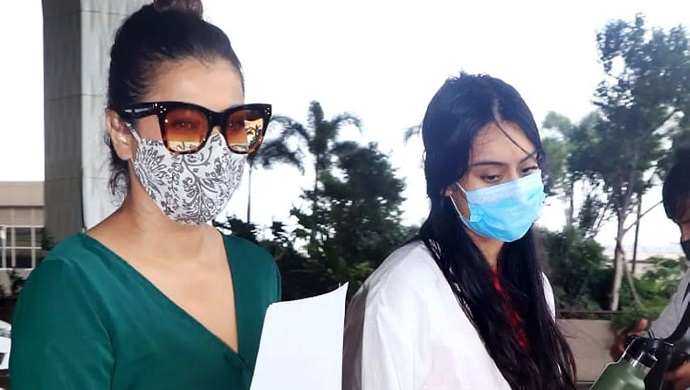 'Like Mom Like Daughter' Kajol And Nysa Devgn Make A Stylish Appearance At The Airport