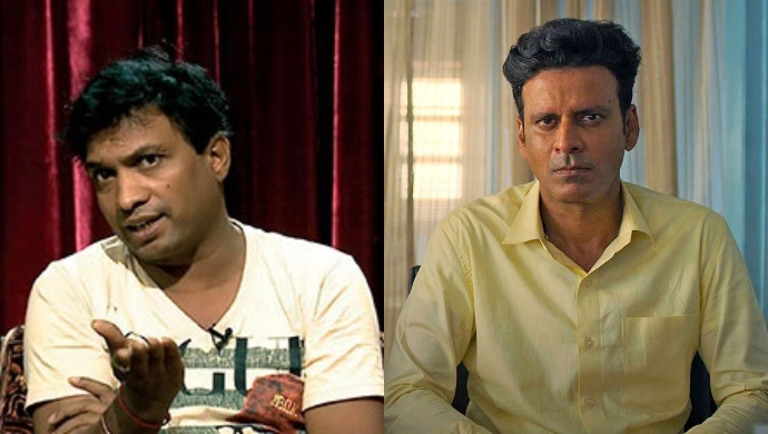 """Sunil Pal Calls Manoj Bajpayee An """"Ill-Mannered"""" Person, Links His Web Show The Family Man To 'Porn'"""