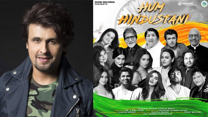 Sonu Nigam Teams Up With 14 Artists From Bollywood For A New Patriotic Song, Hum Hindustani