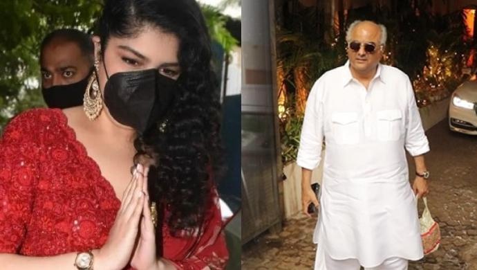 Anshula Kapoor and Boney Kapoor