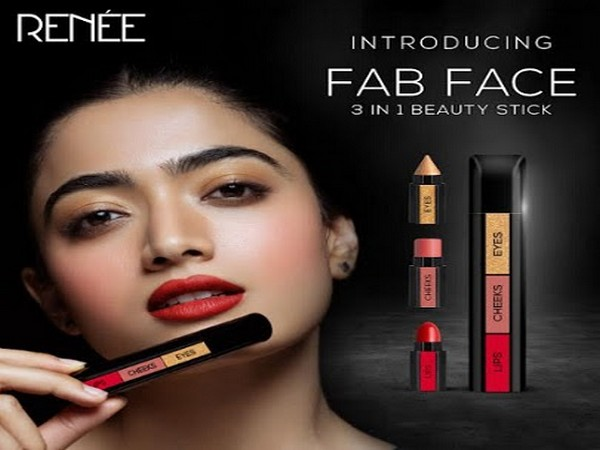 One Makeup Stick for eyes, cheeks and lips – RENEE launches Revolutionary FAB FACE with Rashmika Mandanna and Shruti Haasan